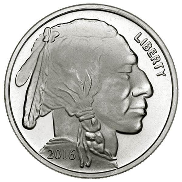 バッファロー・インディアン銀貨