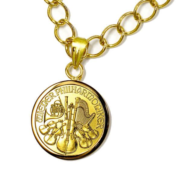 金貨ペンダント写真1