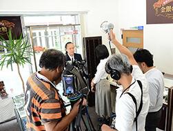 2016年6月30日テレビ取材写真2