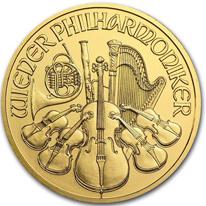 ウィーンフィルハーモニー金貨